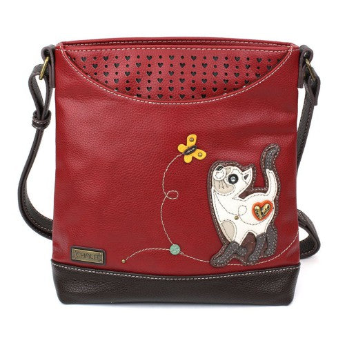 Chala Sweet Messenger Slim Cat Burgundy