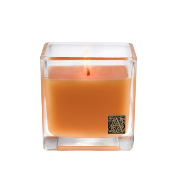 Aromatique Valencia Orange Cube Candle 12 oz.