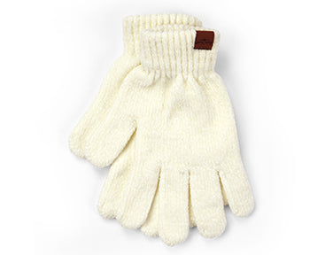 Beyond Soft Chenille Gloves Oatmeal