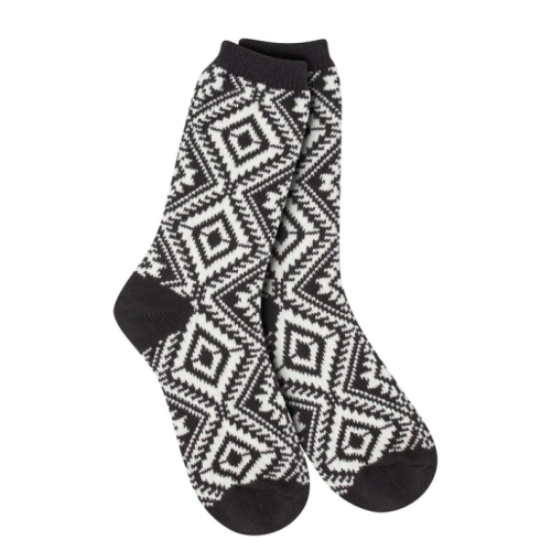 World's Softest Socks Weekend Aztec Black