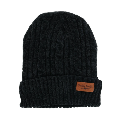 Beyond Soft Chenille Hat Black