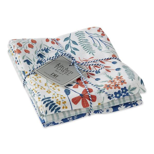 Bloom Garden Dishtowel Set of 3