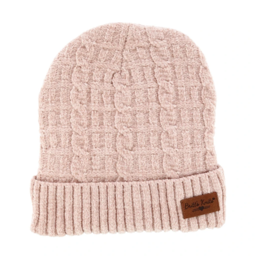Beyond Soft Chenille Hat Blush