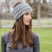Cable Knit Headwarmer Gray