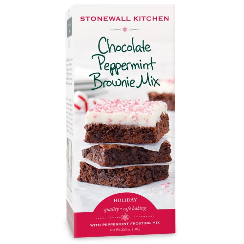 Stonewall Kitchen Chocolate Peppermint Brownie Mix