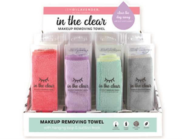 In The Clear Makeup Removing Towel