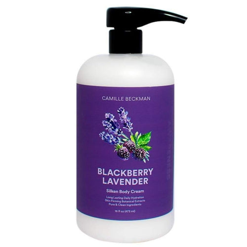 Blackberry Lavender Silken Body Cream 16 oz.