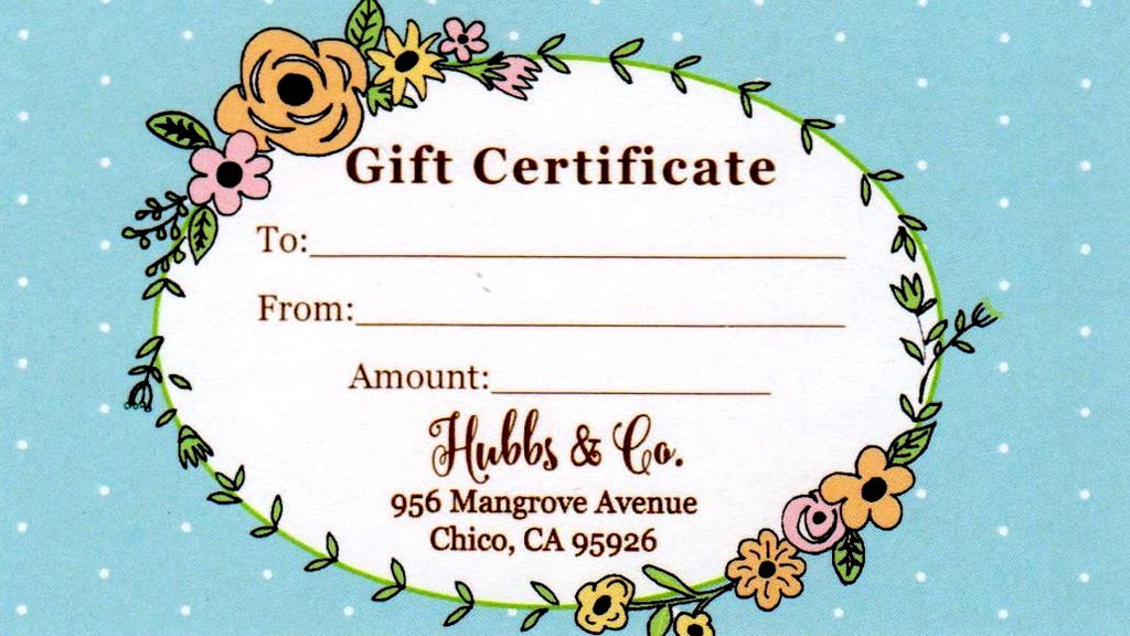 Hubbs & Co. Gift Card