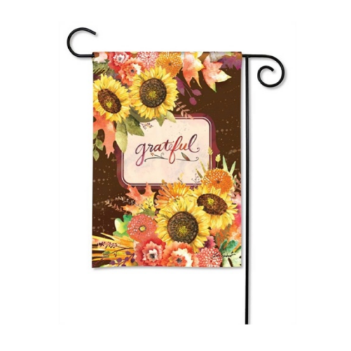 Grateful Bouquet Garden Flag