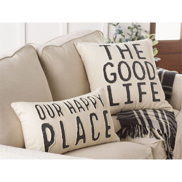 Good Life Canvas Pillows (2 Styles)