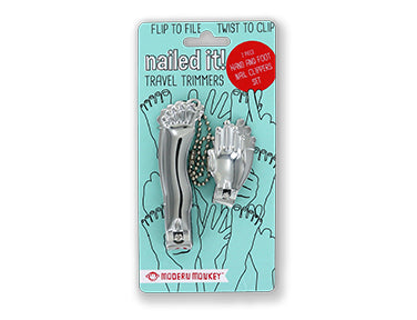 Nailed It! Foot & Hand Clipper Set