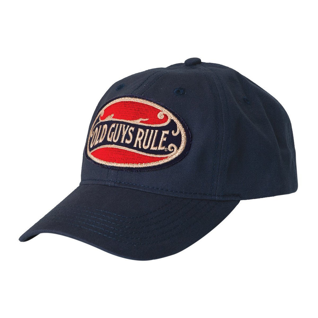 "Old Guys Rule ""Better Oval"" Cap"