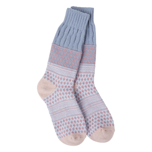 World's Softest Socks Weekend Textured Rachael