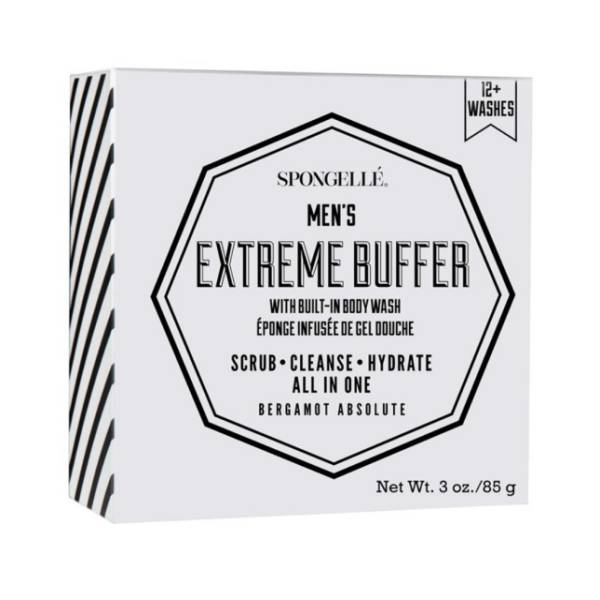 Spongelle Men's Extreme Buffer Bergamot Absolute