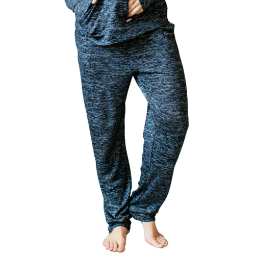 Hello Mello Drawstring Lounge Pants Black