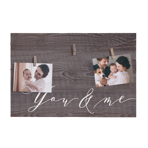 You & Me Twine Sign