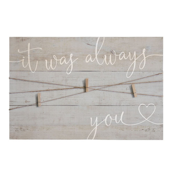 Always You Twine Sign