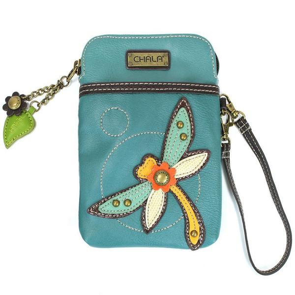Chala Cell Phone Xbody Dragonfly Turquoise