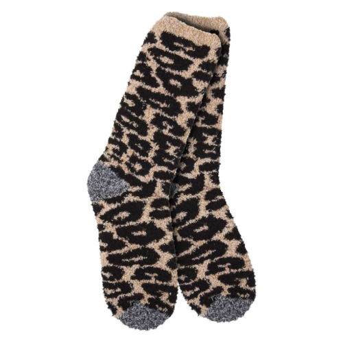 World's Softest Socks Cheetah