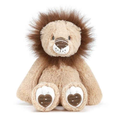 Leonard the Lion Rattle Plush