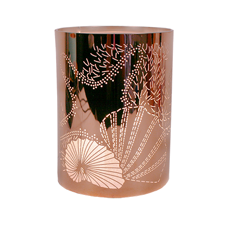 Scentchips Rose Gold Seashell Lantern Shade