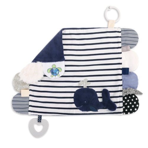 Mommy & Me Activity Blankie Whale