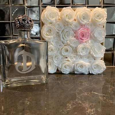 White Gloss Art Deco - Roses Ever After
