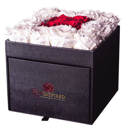 Deluxe Forever Parisian Hat Box - Roses Ever After