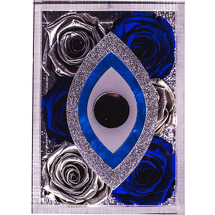 Evil Eye Lucite Box - Roses Ever After