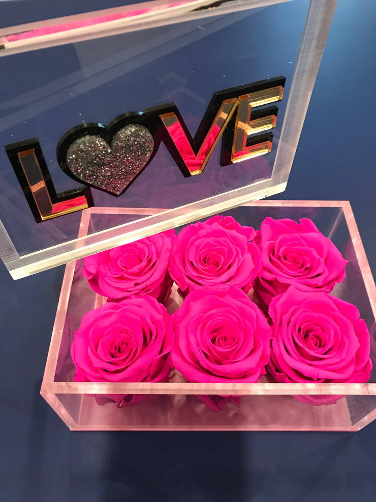 Love Lucite - Roses Ever After