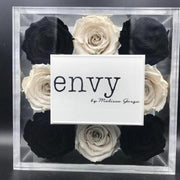 Melissa Gorga - Bravo TV - Envy store logo - Roses Ever After
