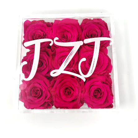Custom Monogram Roses Collection
