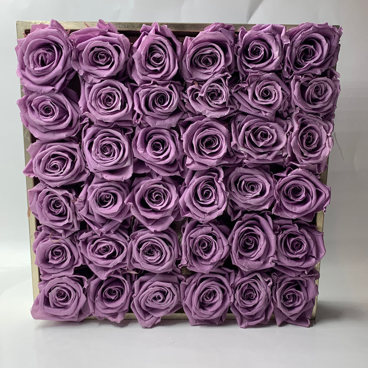 Distressed Gold with over two dozen roses, choose your color - Roses Ever After