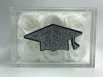 Graduation Cap - Roses Ever After
