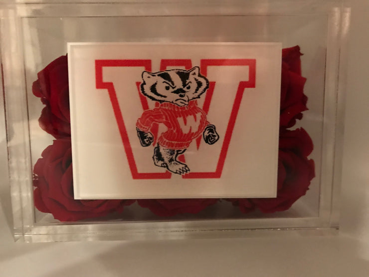 Customize Your College Logo - Roses Ever After