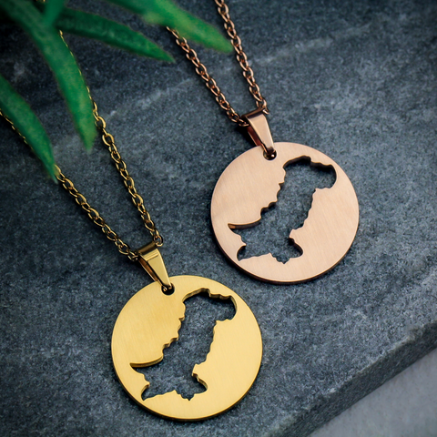 zudo | country necklace | map necklace | represent your roots