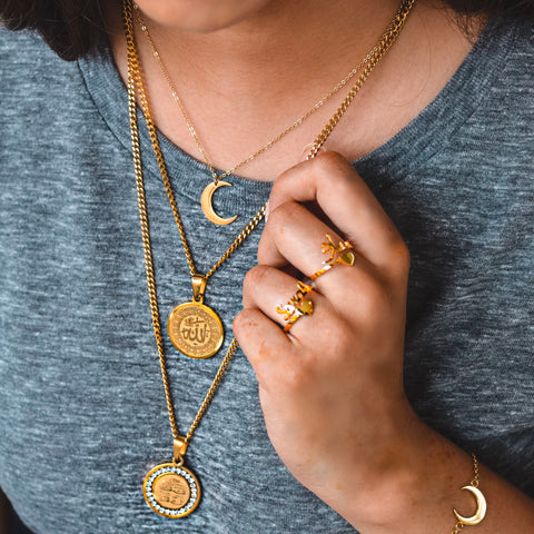 ZUDO Crescent Moon Collection | Necklace | Bracelet