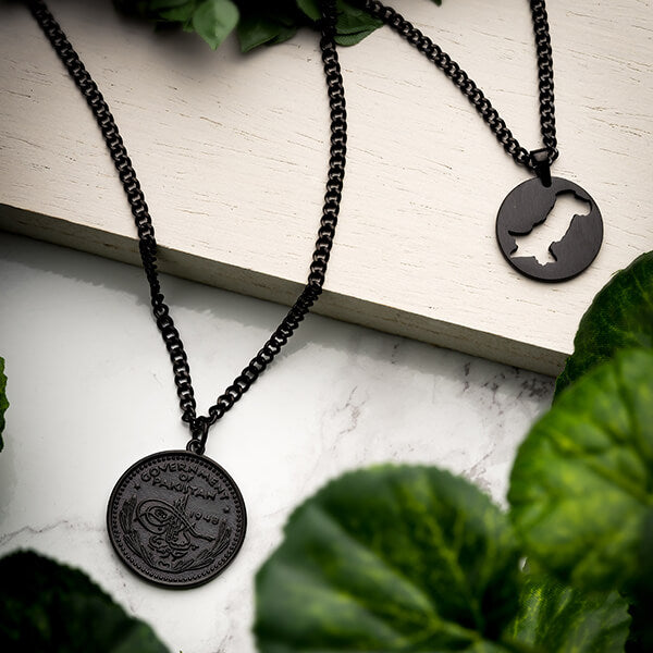 Pakistan Coin Necklace