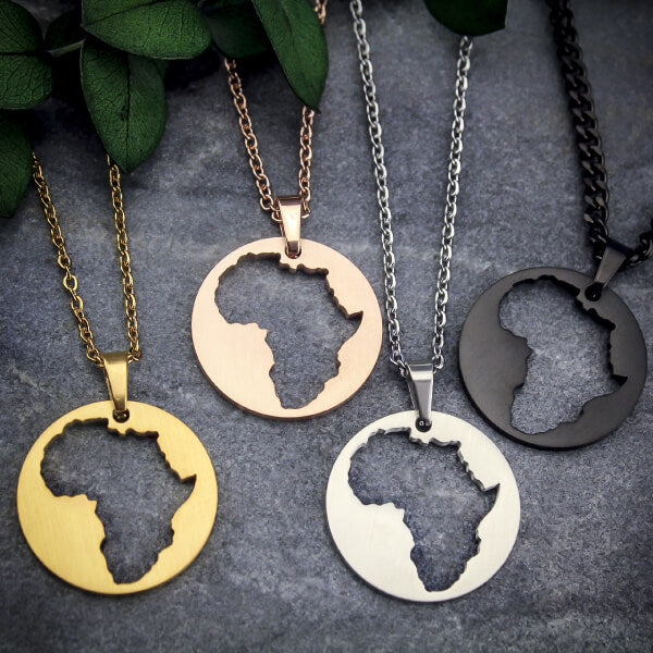 ZUDO - Represent Your Roots - Map Necklace