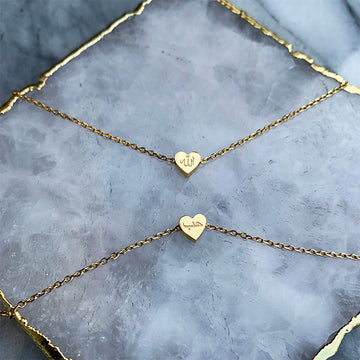 ZUDO - LOVE حب - Heart Necklace