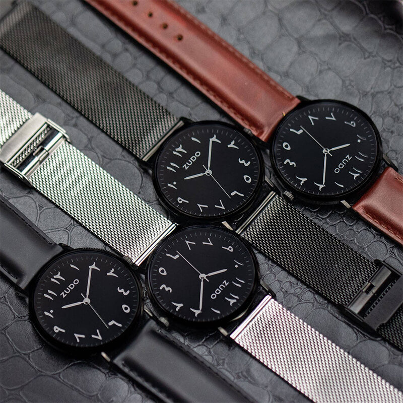 Roots | Black Leather Strap