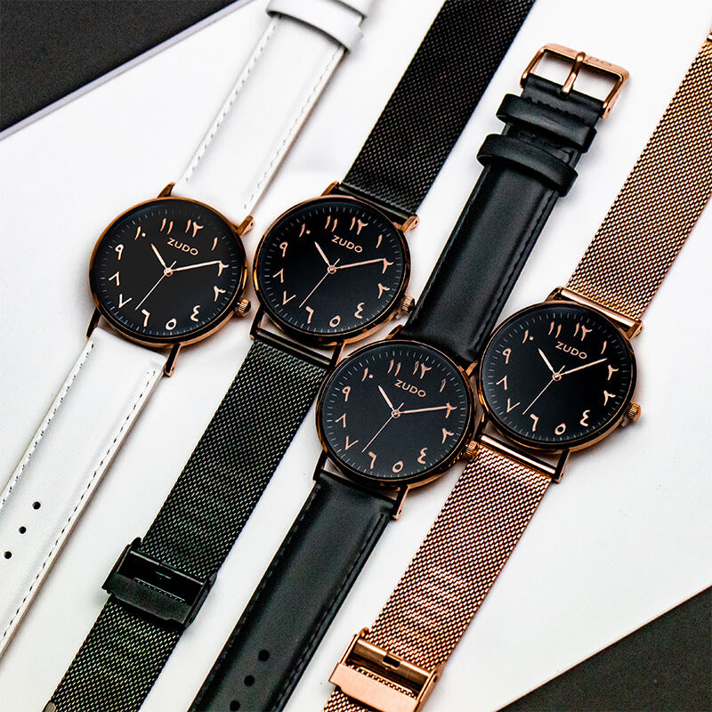 Legacy | Black Leather Strap