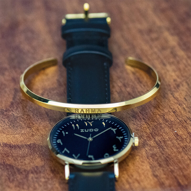 Heritage | Black Leather Strap