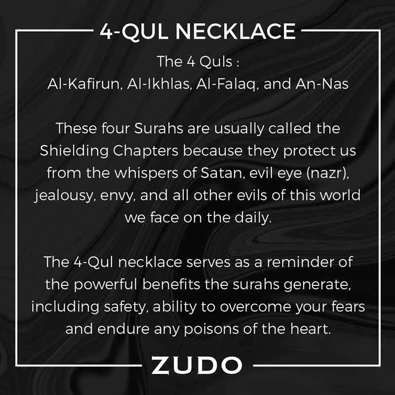 ZUDO 4 Qul Necklace