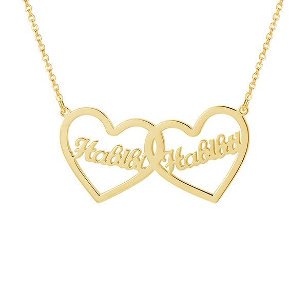 ZUDO-Double-Heart-Name-Necklace-English-Gold
