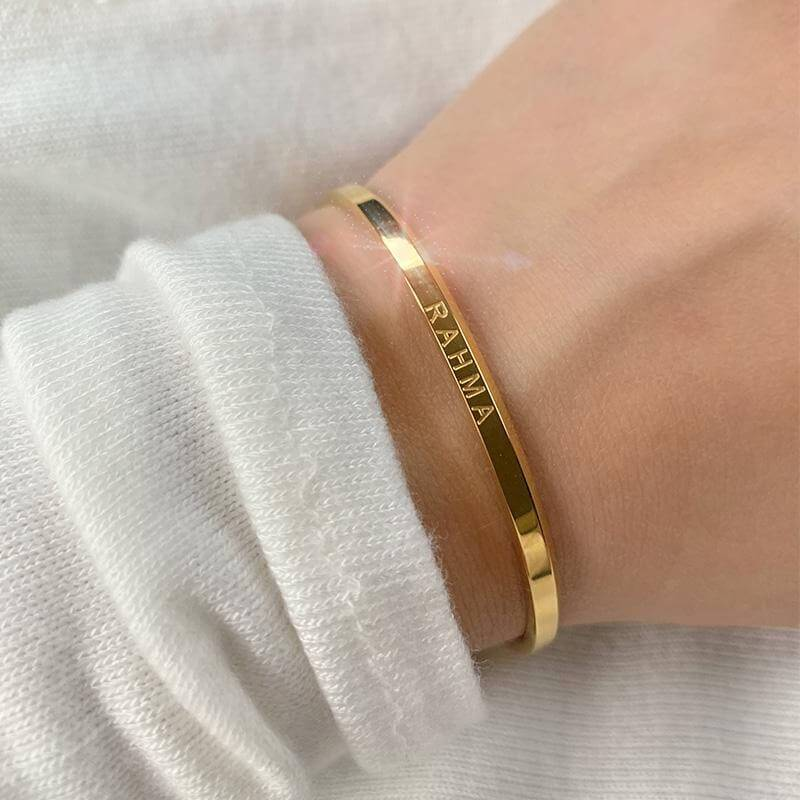 ZUDO-Cuff-Phrases - Rahma Cuff - Heart Women and Girls