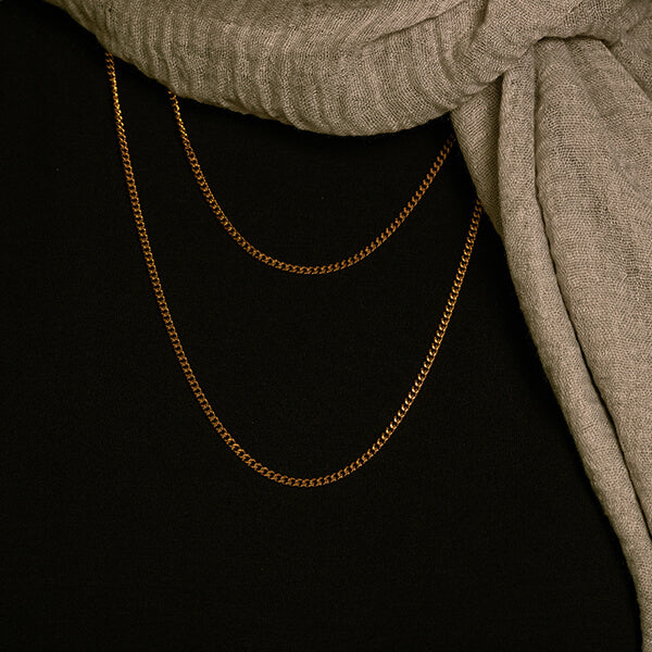 Curb Thick Chains | 3mm