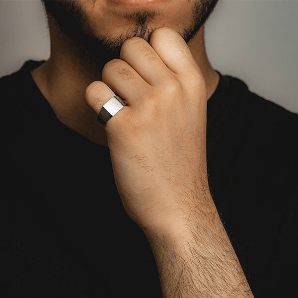 ZUDO Mens Essential Ring