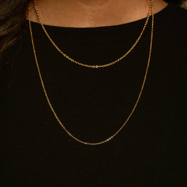 Adjustable Thin Chains