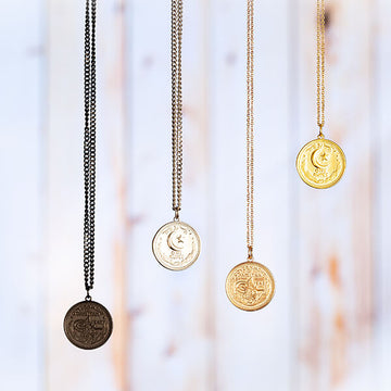 ZUDO Pakistan Coin Necklace